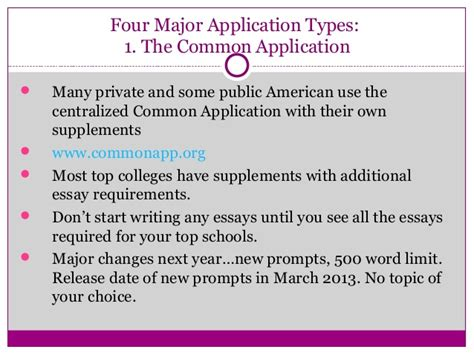 College Application Essay Prompts 2014 College Essay Exles Topic Of Choice