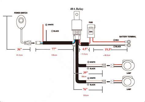 universal wiring harness  led  road light bar automo lighting led warning light bars