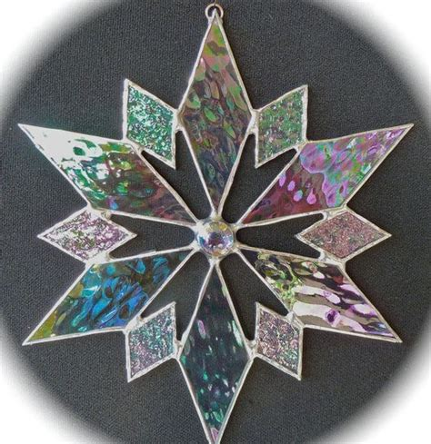 snowflake patterns for stained glass stained glass snowflake sun catcher design 5 sun