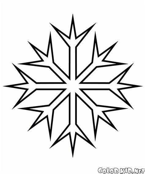 frozen coloring pages snowflakes coloriage flocon de neige de fractale