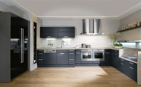 kitchen interiors design interior exterior plan make your kitchen versatile with black and white combination