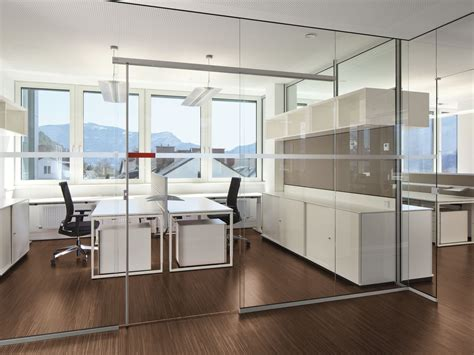 office de glass office partition rg glass wall by bene design