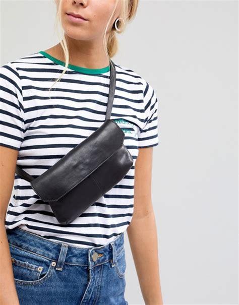 Asos Bum Bag asos design asos design leather flat bum bag