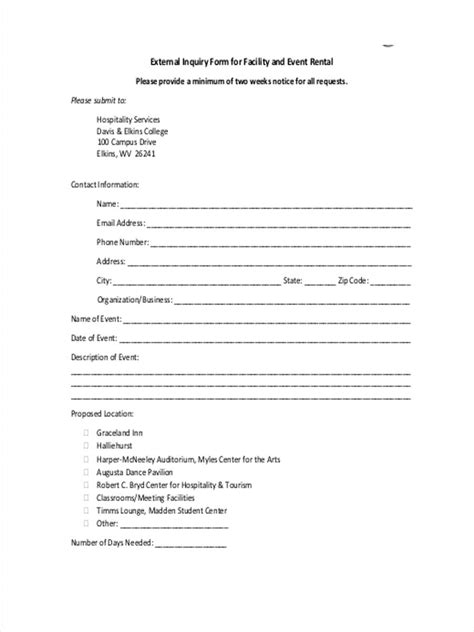event enquiry form template event inquiry form template five tips for event