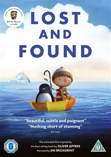 lost and found a novel lost and found books and dvd cg animation