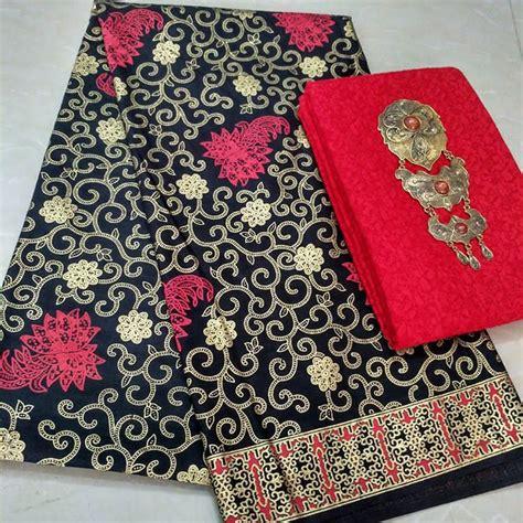 Kain Batik Prada Pekalongan Tanpa Embos 17 kain batik prada kombinasi kain embos p2 7 batik