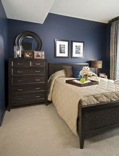 blue bedroom dark furniture 1000 images about 2nd bedroom on pinterest navy walls