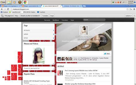 download template blogger terbaru mirip twitter