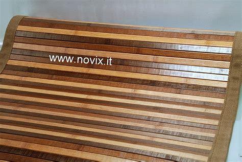 tappeto bamb 217 60x180 cm marrone