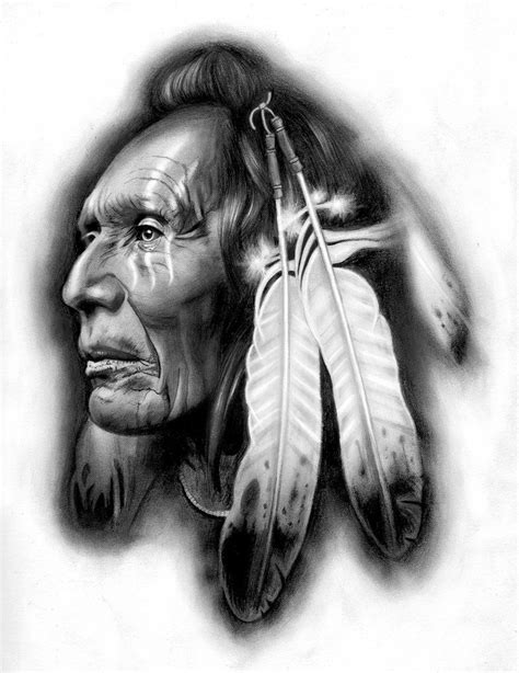 tattoo designs native american indian design american warrior by badfish1111 on