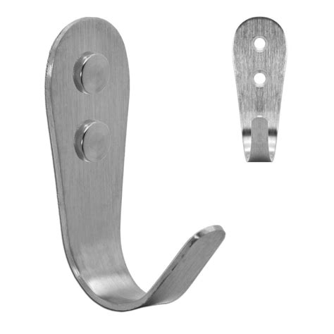 bathroom hanger hooks wall hook steel bathroom hook robe hat coat hooks brushed