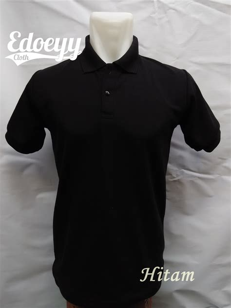 Kaos Cowok C jual polo shirt hitam baju kaos kerah t shirt