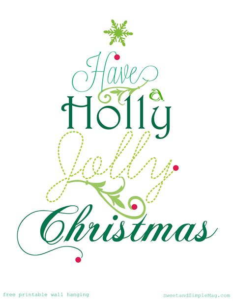 free printable holiday quotes sweet and simple magazine holly jolly free christmas
