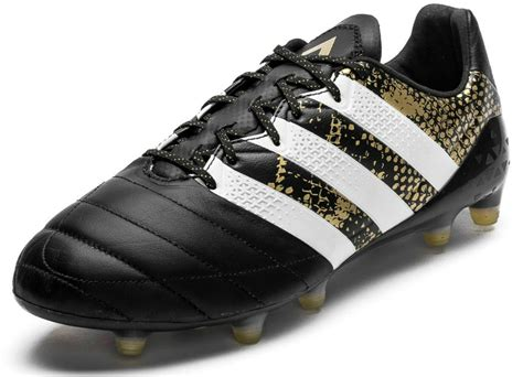 Adidas Football Adidas Ace 16 1 Fg Ag Af5085 adidas ace 16 1 leather fg ag stellar pack black white gold metallic football