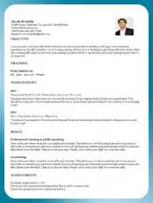 interactive resume builder resume templates