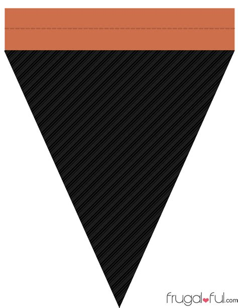 triangle banner template free diy free printable triangle banner template