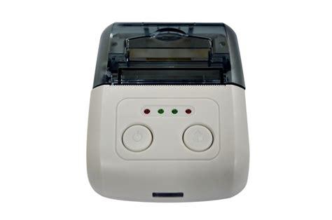 Dijual Zjiang Mini Portable Bluetooth Thermal Printer Limited Barang B pos 58 android portable bluetooth mini thermal printer integer china tech co ltd