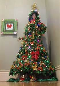 Has even allowed us to exhibit her spectacular christmas tree dress