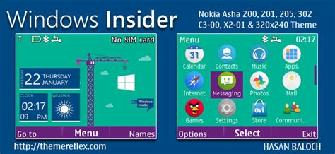 nokia c3 themes windows xp windows insider live theme for nokia c3 00 x2 01 asha