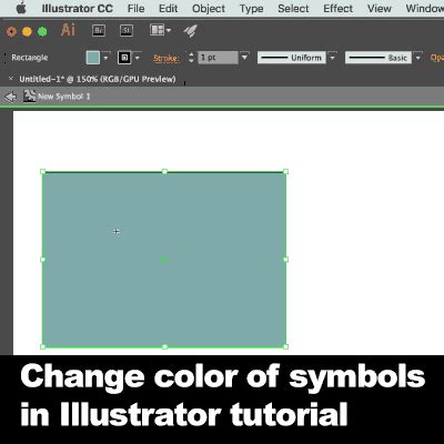 edit pattern color illustrator how to change color of illustrator symbols tutorial