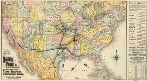 union pacific railroad map texas maps and trains of the 1880s marlena frank