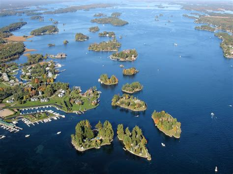 thousand islands the great lakes thousand islands trail ontario from
