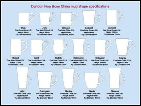 different shapes coffee mug online dunoon mug shape chart tea pinterest charts search