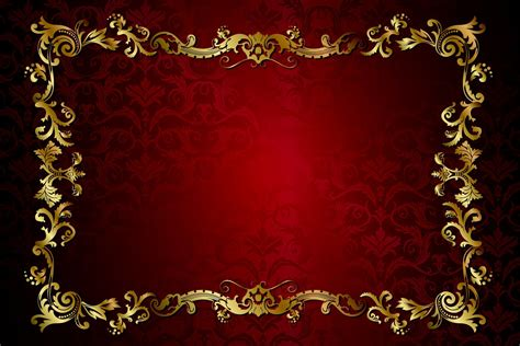 gradient background pattern vector red dark golden vintage pattern gradient vector texture