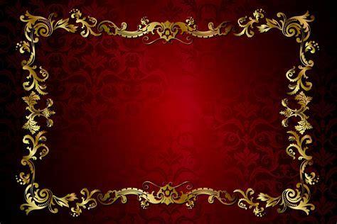 red dark golden vintage pattern gradient vector texture