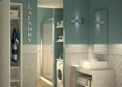 soluzioni bagno lavanderia bagno lavanderia con guardaroba una soluzione per la