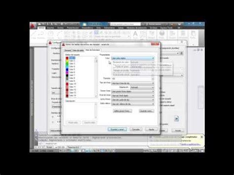 tutorial de autocad 2013 tutorial configuraci 211 n de plumillas autocad 2013 2015