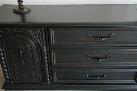 chalk paint black pin by kristy smith on furniture makeover