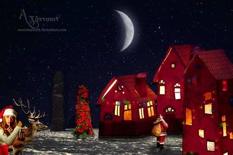 christmas night by annemaria48 on deviantart