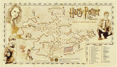 Marauders Map nerdovore world maps harry potter