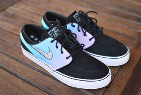 Design Custom Nike 028 pastel color tie dye nike zoom stefan janoski sneakers