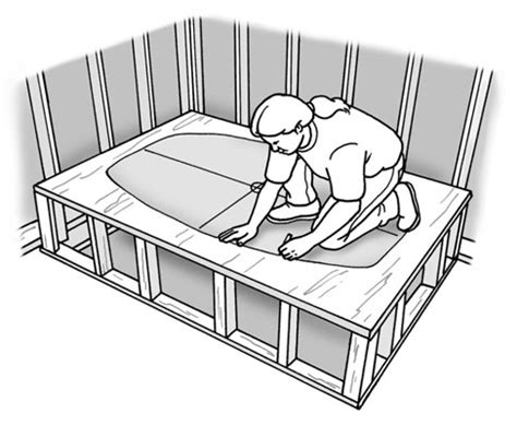how to build in a bathtub how to build a platform for a bathtub diy pinterest bathtubs floor framing and tubs