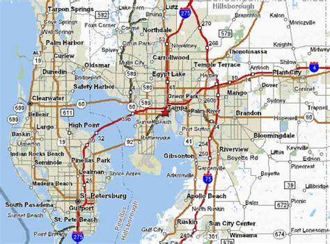 zip code map st petersburg fl map of st petersburg fl holidaymapq com
