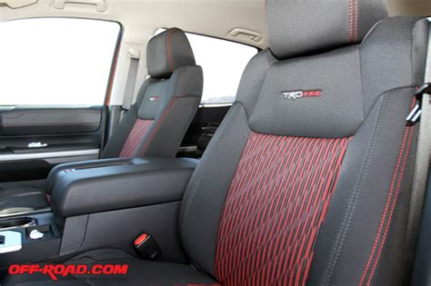 Toyota Tacoma Trd Seat Covers Review 2015 Toyota Tundra Trd Pro Road