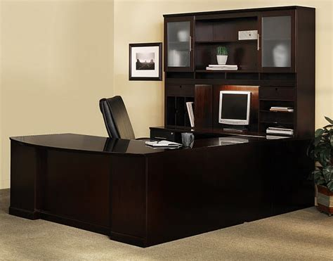 U Shaped Office Desk With Hutch Executive Office Desk Sorrento U Shape Executive Office Desk With Hutch St5
