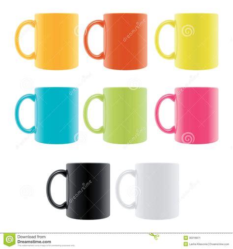 color cup 颜色咖啡杯 库存图片 图片 包括有 前面 反映 早晨 品尝 查出 急性 浓咖啡 背包 杯子