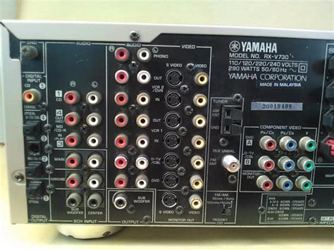 jual receiver amplifier home theatre theater teater yamaha