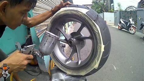 Spakbor Belakang Vario 125 Proses Repaint Velg Dan Behel Nmax Abs