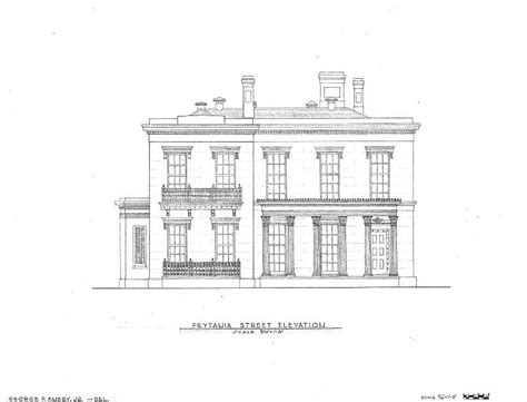 house plans new orleans floor plans robert a grinnan house new orleans louisiana