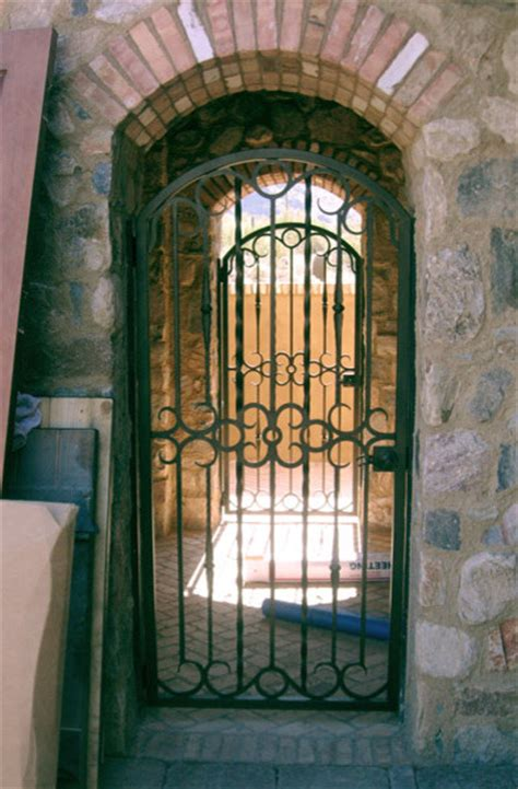 Wrought Iron Front Door Gates Wrought Iron Walk Gate