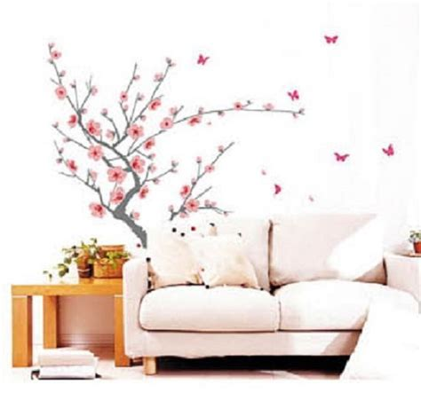 cherry blossom flower tree home decor mural sl818