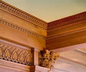 Wood Crown Molding Ceiling Molding Design Carved Molding Coffered Ceiling