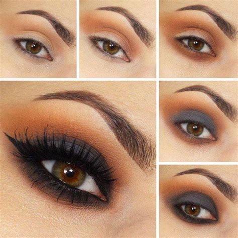 imagenes de ojos maquillados 20 ideas de maquillaje de noche para los ojos que te har 225 n