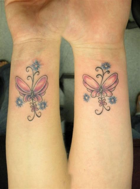 cross and butterfly tattoo wrist butterfly tattoos