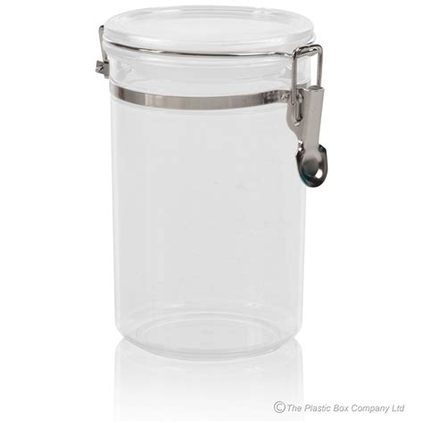 plastic kitchen canisters buy 800ml round acrylic plastic food canister with