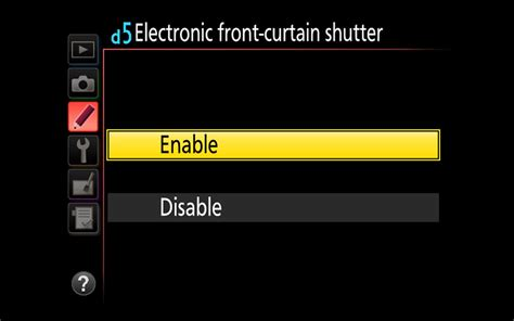 front curtain shutter electronic front curtain shutter explained